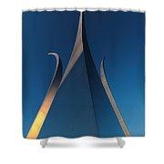 U.s. Air Force Memorial Shower Curtain