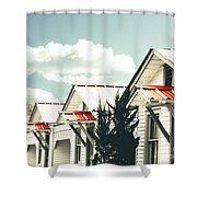 3-v Motel St Francisville La Shower Curtain