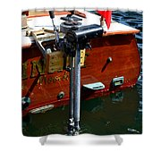 Vancouver Bc Classic Boats Shower Curtain