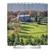 Vanderbilt Mansion Shower Curtain