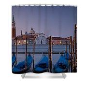 Venice Morning Shower Curtain