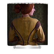 Victorian Woman  Shower Curtain