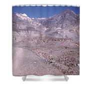 Vintage Death Valley By Lynn Bramkamp Shower Curtain