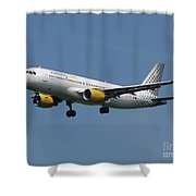 Vueling Airbus A320 Shower Curtain