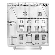 Washington Residence Shower Curtain