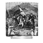 Washington Trenton, 1789 Shower Curtain