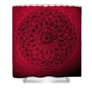 Wave Particle Duality Shower Curtain by Jason Padgett