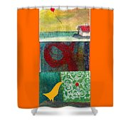 3 Way 2 Shower Curtain