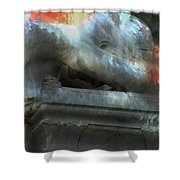 Weeping Angel Shower Curtain