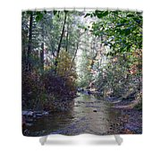 West Fork Oak Creek Shower Curtain