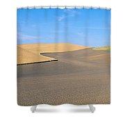 Wheat Fields, S.e. Washington Shower Curtain