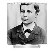 Wilbur Wright (1867-1912) Shower Curtain