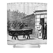 William Henry Vanderbilt (1821-1885) Shower Curtain