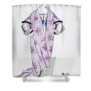 Women's Fashion, 1920 Shower Curtain