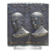 Wright Brothers Memorial Shower Curtain