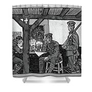 Wwi Soldiers, 1918 Shower Curtain