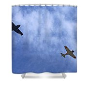 Wwii Planes Shower Curtain