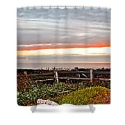 Yachats Oregon Shower Curtain