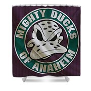 Anaheim Ducks Shower Curtain