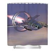 30 Mm Gunfighter Shower Curtain