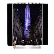 30 Rock Building Shower Curtain
