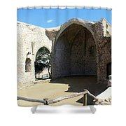 Tossa De Mar Costa Brava Shower Curtain