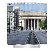 30th Street Station From Jfk Blvd Shower Curtain