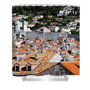 Views Of Dubrovnik Croatia Shower Curtain
