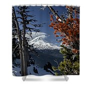 Mt Hood From Lookout Mtn Shower Curtain