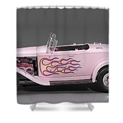 '32 Ford Hot Rod Shower Curtain
