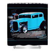 32 Ford Victoria  Shower Curtain