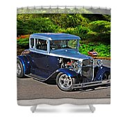 32 Ford Shower Curtain