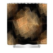 Seamless Background Fractal Shower Curtain