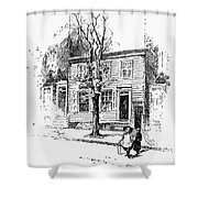 Walt Whitman (1819-1892) Shower Curtain