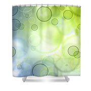 Circles Of Hope Shower Curtain