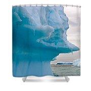 Iceberg, Antarctica Shower Curtain