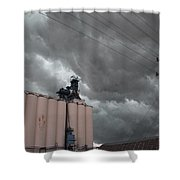 Nebraska Panhandle Supercells Shower Curtain