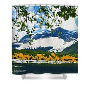 Norway  Landscape Shower Curtain