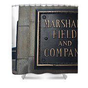 Marshall Field's Store Shower Curtain
