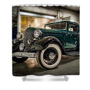 '33 Plymouth Shower Curtain