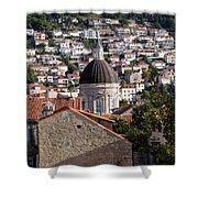 Views Of Dubrovnik Croatia Shower Curtain