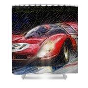 330p4 Shower Curtain