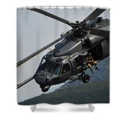 33rd Rescue Squadron, Osan Air Base Shower Curtain