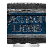 Detroit Lions Shower Curtain