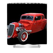 34 Ford Coupe Shower Curtain