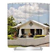 343 Cottage Shower Curtain