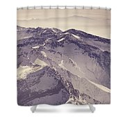 3.478 Meters Aerial Retro Shower Curtain