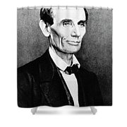 Abraham Lincoln (1809-1865) Shower Curtain