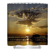 Its Marguerita Time Shower Curtain