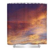 Bright Sky  Shower Curtain